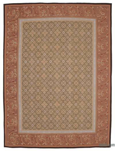 "Aubusson Rug - 8'9"" x 11'8"" (105 in. x 140 in.)"