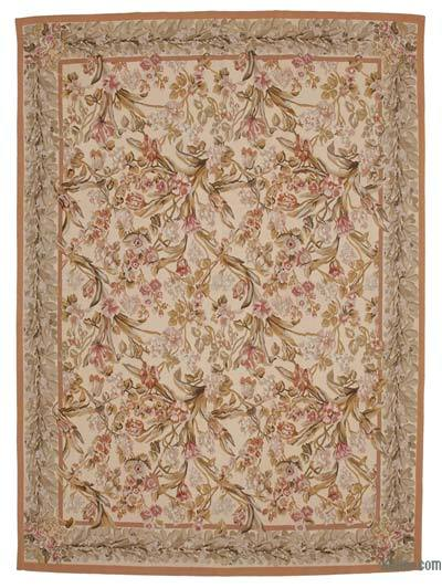 Aubusson Rug - 8'8'' x 12'1'' (104 in. x 145 in.)