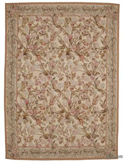 "Aubusson Rug - 8'10"" x 12'1"" (106 in. x 145 in.)"