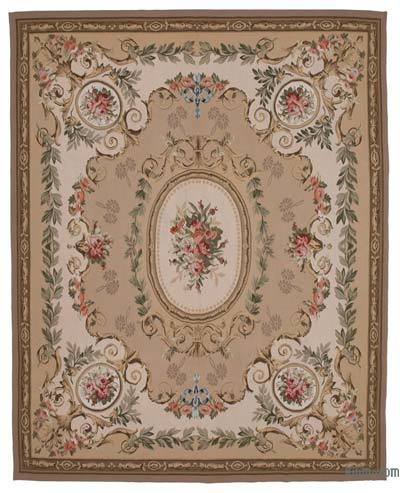 "Aubusson Rug - 8'10"" x 11'1"" (106 in. x 133 in.)"