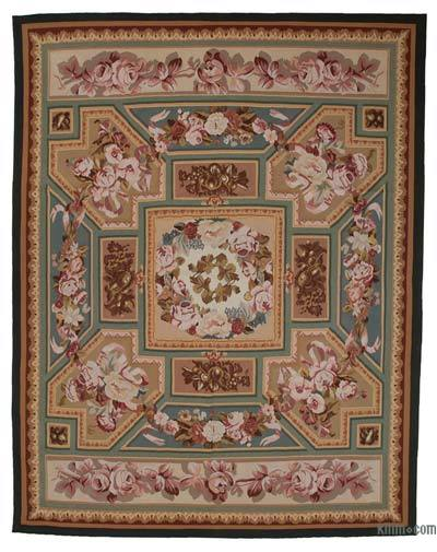 "Aubusson Rug - 9'3"" x 11'10"" (111 in. x 142 in.)"
