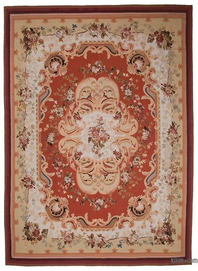 Aubusson Rug - 10' x 13'11'' (120 in. x 167 in.)