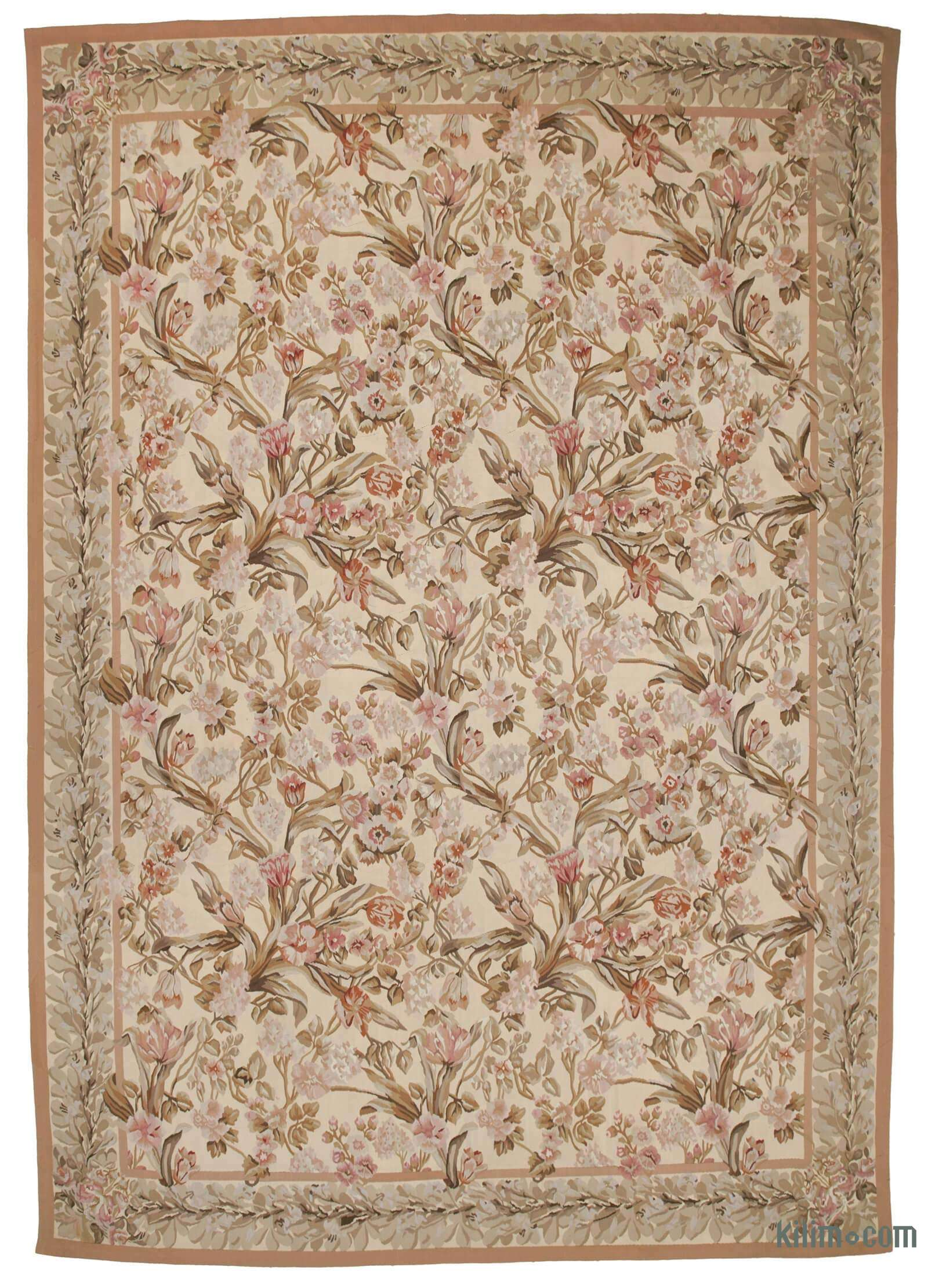 Aubusson Rug 9 11 X 14 119 In X 168 In