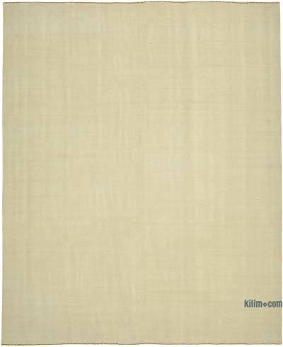 Beige New Contemporary Kilim Rug - Z Collection - 8'2'' x 10' (98 in. x 120 in.)