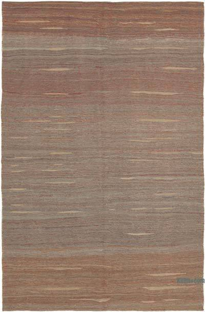 Multicolor New Contemporary Kilim Rug - Z Collection - 6'10'' x 10'11'' (82 in. x 131 in.)