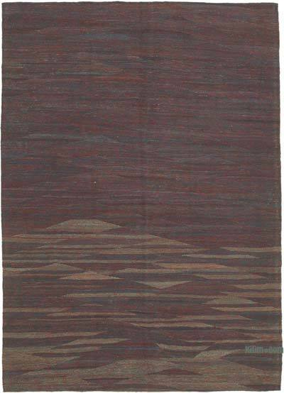 "New Contemporary Kilim Rug - Z Collection - 6'9"" x 9'7"" (81 in. x 115 in.)"