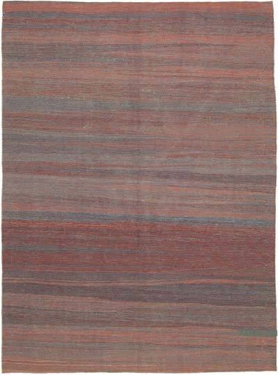 New Contemporary Kilim Rug - Z Collection - 7' x 9'7'' (84 in. x 115 in.)