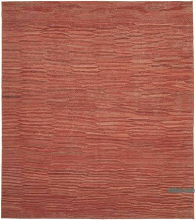 "New Contemporary Kilim Rug - Z Collection - 8'1"" x 9'1"" (97 in. x 109 in.)"