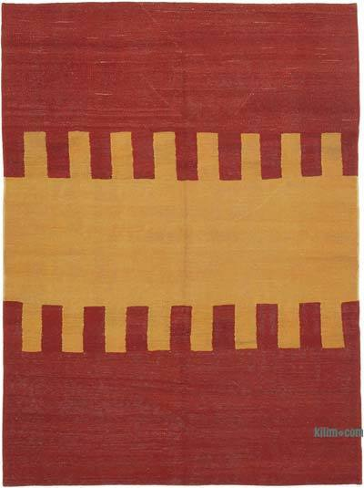 "New Contemporary Kilim Rug - Z Collection - 5'10"" x 7'9"" (70 in. x 93 in.)"