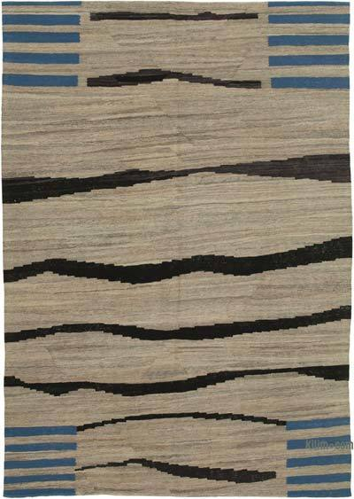 New Contemporary Kilim Rug - Z Collection - 6'9'' x 9'6'' (81 in. x 114 in.)