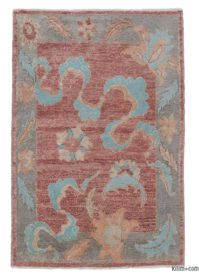 New Hand Knotted Anatolian Rug - 2'11'' x 4'3'' (35 in. x 51 in.)