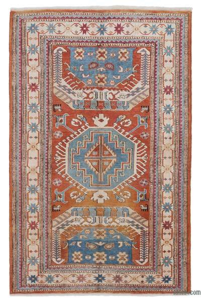 "New Hand Knotted Anatolian Rug - 4'2"" x 6'6"" (50 in. x 78 in.)"