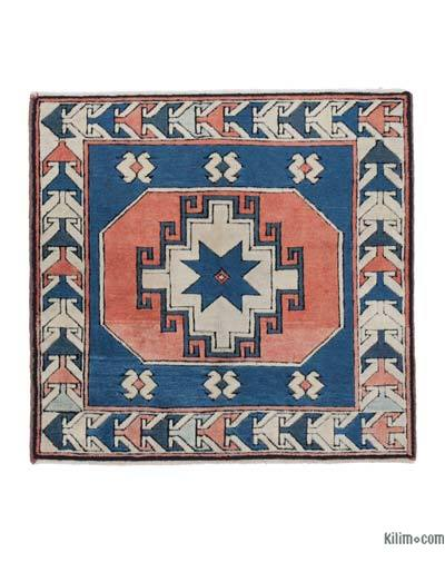 "New Hand Knotted Anatolian Rug - 3'4"" x 3'6"" (40 in. x 42 in.)"