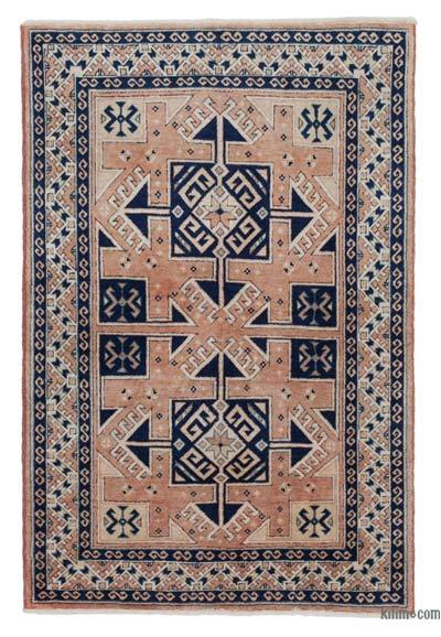 New Hand Knotted Anatolian Rug - 3'3'' x 4'10'' (39 in. x 58 in.)
