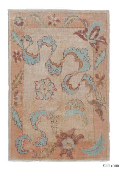 "New Hand Knotted Anatolian Rug - 2'11"" x 4'3"" (35 in. x 51 in.)"
