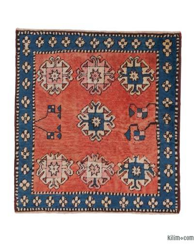 New Hand Knotted Anatolian Rug - 3'5'' x 3'8'' (41 in. x 44 in.)