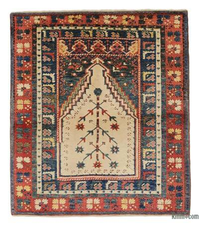 New Hand Knotted Anatolian Rug - 3'7'' x 4' (43 in. x 48 in.)