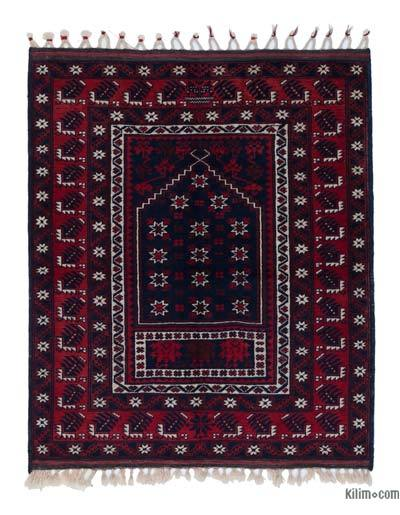 New Hand Knotted Anatolian Rug - 3'4'' x 3'10'' (40 in. x 46 in.)