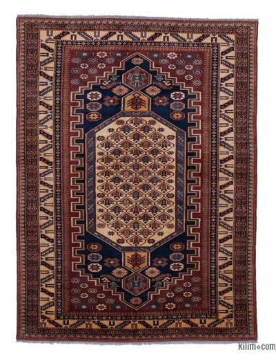"New Hand Knotted Anatolian Rug - 4'1"" x 5'5"" (49 in. x 65 in.)"