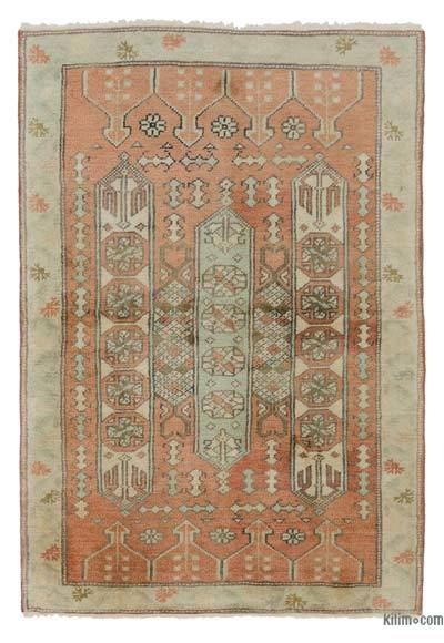 New Hand Knotted Anatolian Rug - 2'9'' x 4'1'' (33 in. x 49 in.)