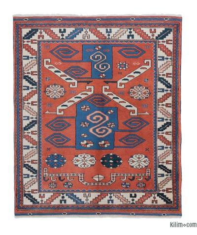 "New Hand Knotted Anatolian Rug - 3'7"" x 4'1"" (43 in. x 49 in.)"
