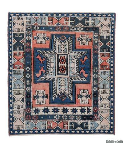 New Hand Knotted Anatolian Rug - 3'3'' x 3'8'' (39 in. x 44 in.)