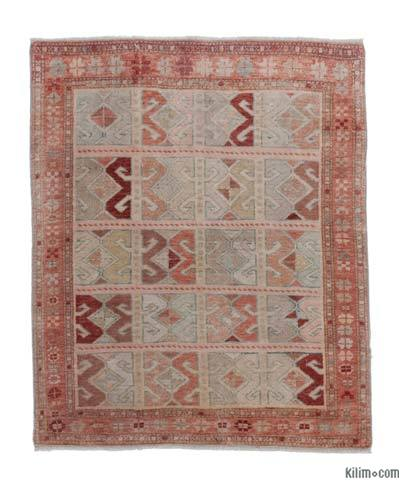 New Hand Knotted Anatolian Rug - 3'2'' x 3'10'' (38 in. x 46 in.)