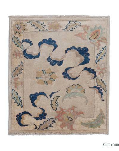 New Hand Knotted Anatolian Rug - 2'10'' x 3'3'' (34 in. x 39 in.)