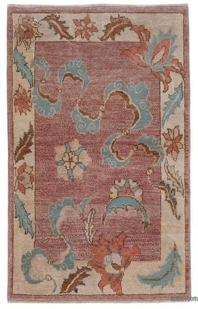 "New Hand Knotted Anatolian Rug - 2'9"" x 4'6"" (33 in. x 54 in.)"