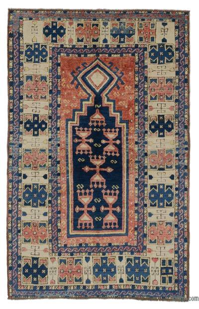 New Hand Knotted Anatolian Rug - 3'5'' x 5'3'' (41 in. x 63 in.)