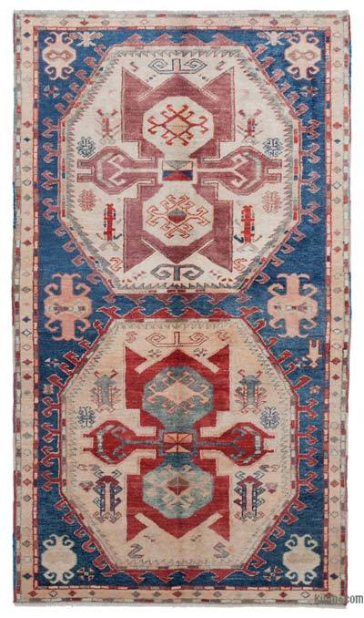 "New Hand Knotted Anatolian Rug - 4'3"" x 7'5"" (51 in. x 89 in.)"