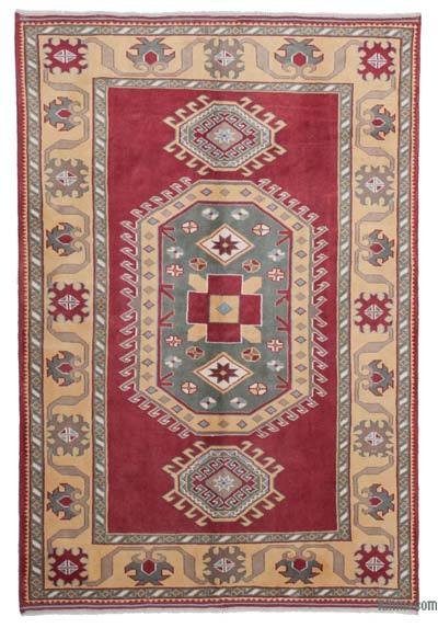 "New Hand Knotted Anatolian Rug - 5'5"" x 7'11"" (65 in. x 95 in.)"