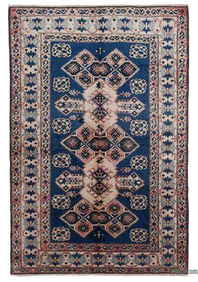 New Hand Knotted Anatolian Rug - 4'9'' x 7'2'' (57 in. x 86 in.)