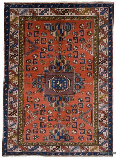 "New Hand Knotted Anatolian Rug - 6'6"" x 9' (78 in. x 108 in.)"