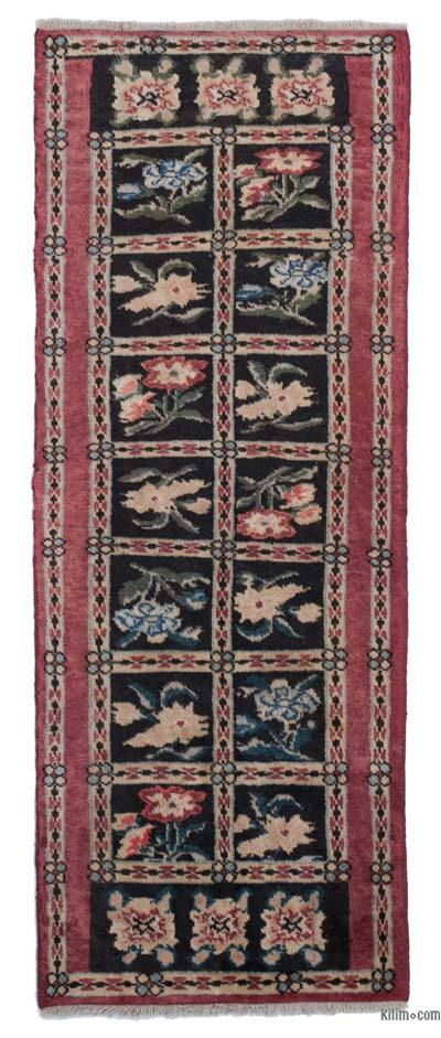 "New Hand Knotted Anatolian Runner Rug - 2'1"" x 5'6"" (25 in. x 66 in.)"