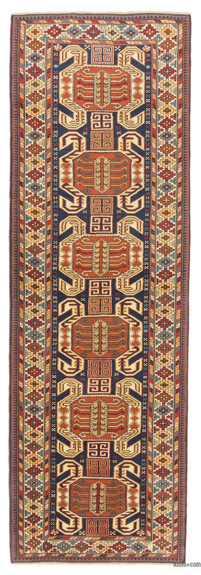 New Hand Knotted Anatolian Runner Rug - 3'2'' x 9'9'' (38 in. x 117 in.)