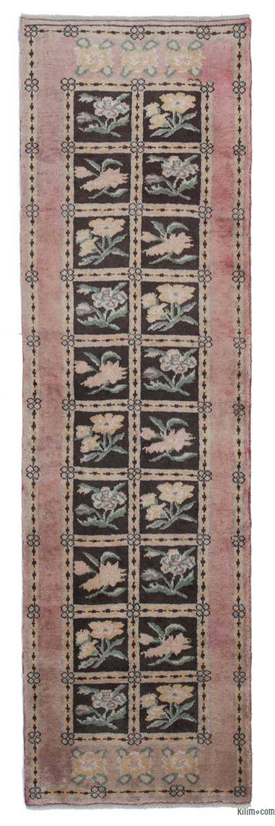 "New Hand Knotted Anatolian Runner Rug - 2'3"" x 7'9"" (27 in. x 93 in.)"