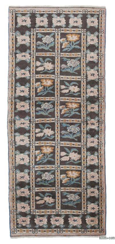 "New Hand Knotted Anatolian Runner Rug - 2'9"" x 6'4"" (33 in. x 76 in.)"