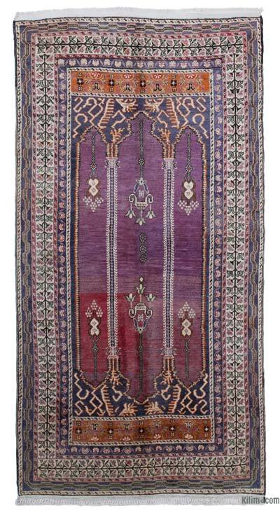 "New Hand Knotted Anatolian Runner Rug - 4' x 7'8"" (48 in. x 92 in.)"