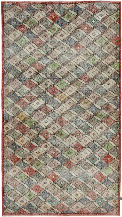 "Turkish Vintage Rug - 4'4"" x 7'10"" (52 in. x 94 in.)"