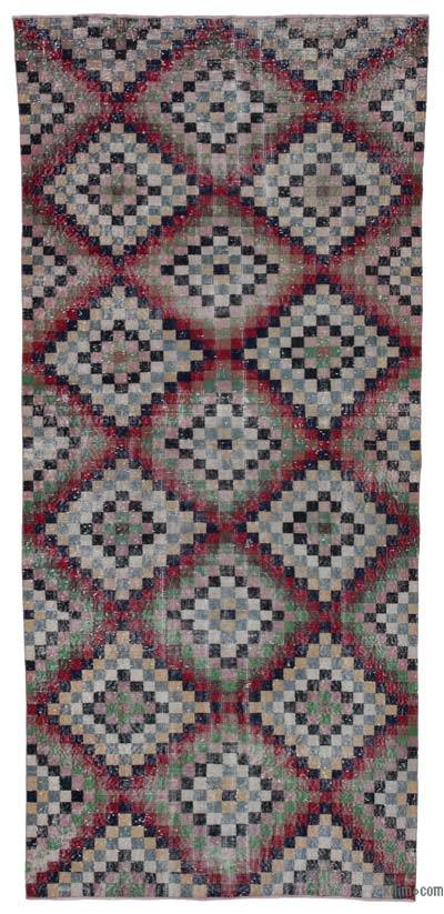 Turkish Vintage Rug - 4'8'' x 10' (56 in. x 120 in.)