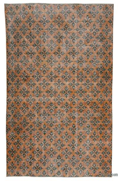 Turkish Vintage Rug - 5'9'' x 9'4'' (69 in. x 112 in.)