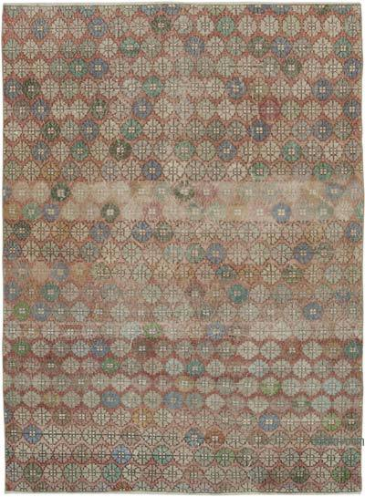 "Turkish Vintage Rug - 6'2"" x 8'7"" (74 in. x 103 in.)"
