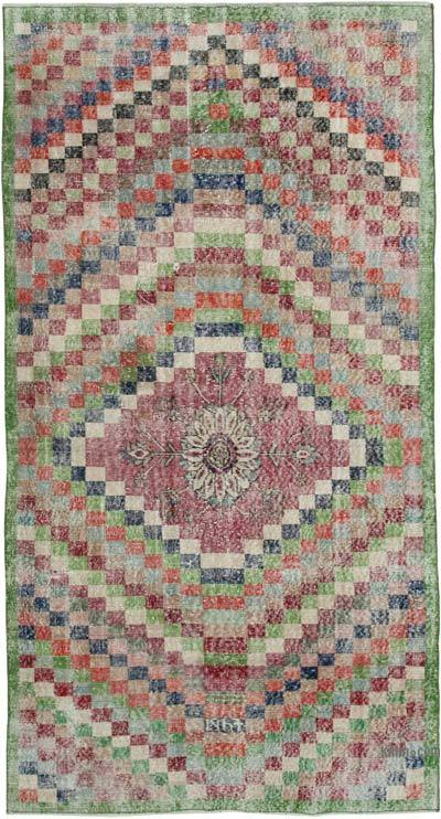 "Turkish Vintage Rug - 4'8"" x 9'1"" (56 in. x 109 in.)"
