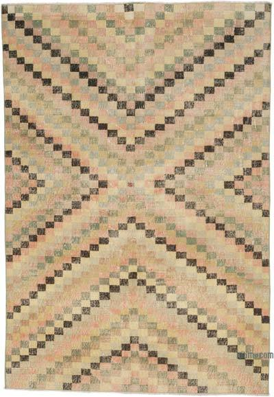 "Turkish Vintage Rug - 4'6"" x 6'7"" (54 in. x 79 in.)"