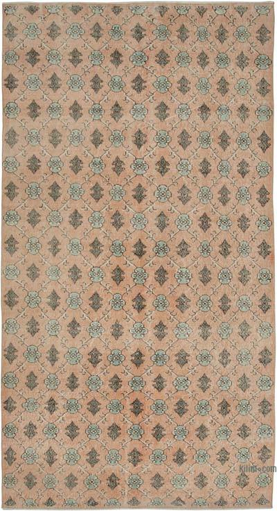 Turkish Vintage Rug - 5'5'' x 10'2'' (65 in. x 122 in.)