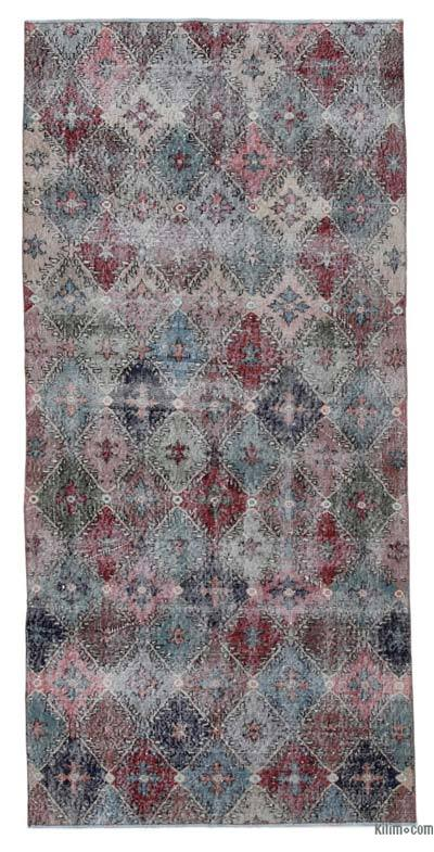 Turkish Vintage Rug - 3'11'' x 8'2'' (47 in. x 98 in.)