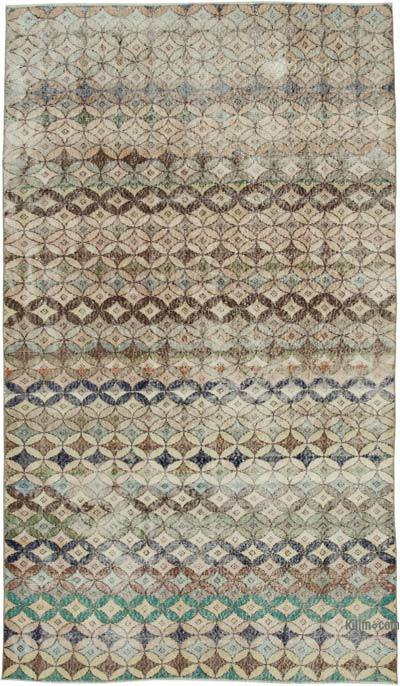Turkish Vintage Rug - 5'5'' x 9'4'' (65 in. x 112 in.)
