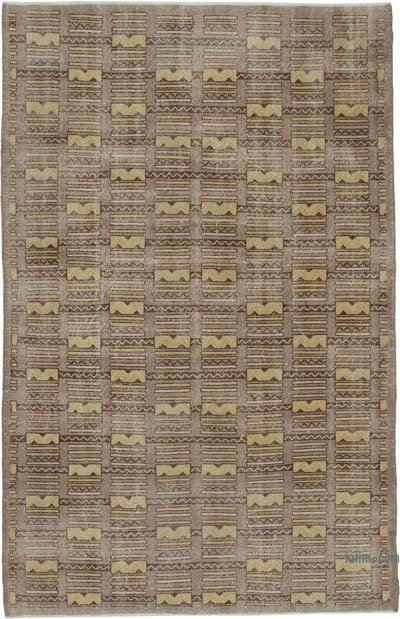 Turkish Vintage Rug - 6'8'' x 10'4'' (80 in. x 124 in.)