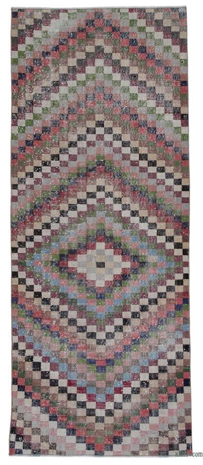 Turkish Vintage Rug - 3'3'' x 7'9'' (39 in. x 93 in.)